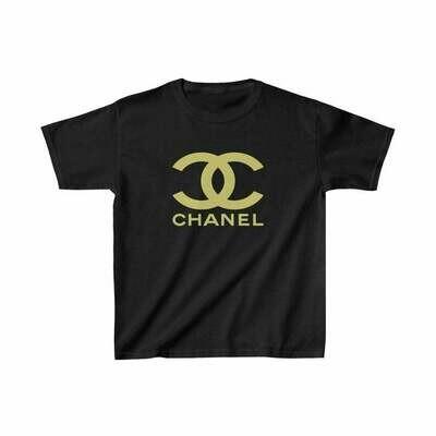 Kids Tee, Classic Logo Chanel, Chanel Shirt, Gucci T shirt, Chanel Logo, Fashion Shirt, Kids Shirt, Chanel Design