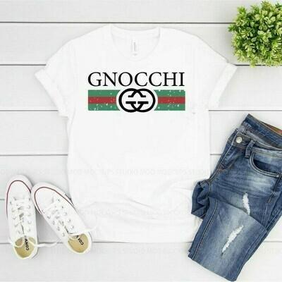 Gucci GNOCCHI Logo Gucci, Gucci Shirt, Gucci T-shirt, Gucci Logo, Gucci Fashion shirt Gucci Design shirt, Snake Gucci vintage shirt