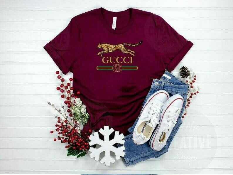 lionpard Logo Gucci, Gucci Shirt, Gucci T-shirt, Gucci Logo, Gucci Fashion shirt, Fashion shirt, Gucci Design, Snake Gucci vintage shirt