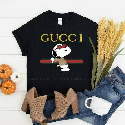 Snoopy Gucci, Gucci Shirts, Gucci T-shirt, Gucci Logo, Gucci Fashion shirt, Fashion shirt, Gucci Design shirt, Snake Gucci vintage shirt