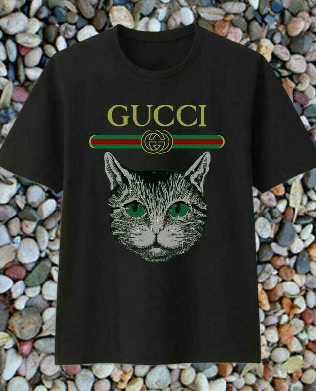 Cat Logo Gucci, Gucci Shirt, Gucci T-shirt, Gucci Logo, Gucci Fashion shirt, Fashion shirt, Gucci Design shirt, Snake Gucci vintage shirt