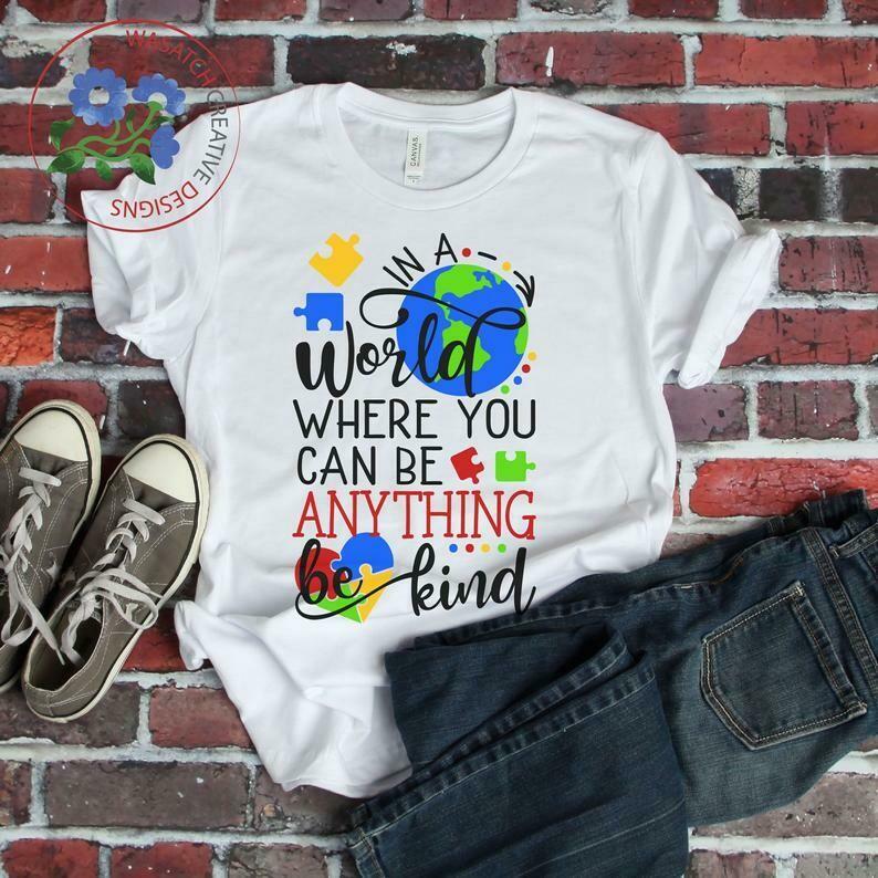 Costcotee Autism Awareness | Be YOU tiful svg, dxf, fcm, eps, and png. Autism Awareness svg, Autism SVG, Instant Download Shirt