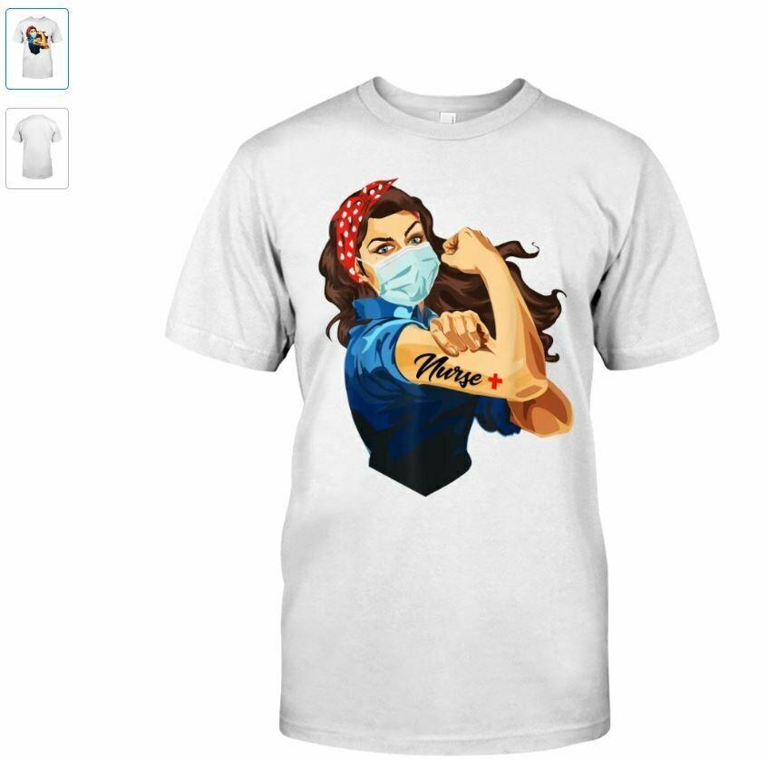 Costcotee Nurse Strong Woman Warrior Love Nursing Vintage T-Shirt Unisex Shirt Short-Sleeve Long-Sleeve V-Neck Tank Hoodie Sweatshirt Men Women Tee Gift