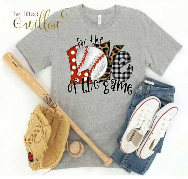 Costcotee Baseball FoR The Love Of The Game Shirt - For The Love of the Game Baseball Shirt ~ Baseball Mom Tee ~ Baseball shirts