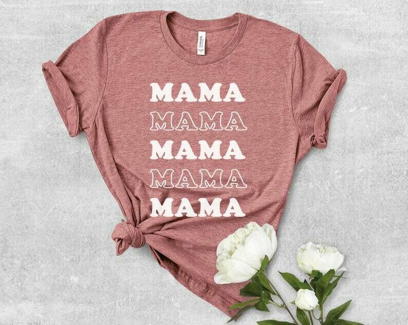 Costcotee Mama Shirt, Mama, Cool Mom Vibes, Cool Mom, Mom Vibes, Gifts for Mom, Mom Shirt, Workout Shirt, Yoga Shirt, Mom Shirt