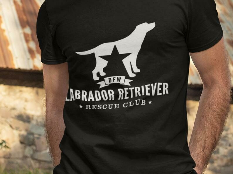 Costcotee Dfw Labrador Retriever Rescue Club Shirt, Labrador Shirt, Rescue Dog Shirt, Labrador Retriever, Labrador Mom Shirt, Labrador Dog