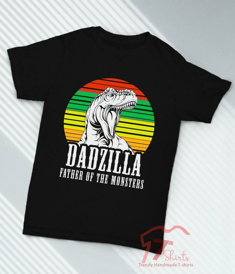 Costcotee Godzilla Shirt, Dadzilla, Fathers Day Shirt, The Best Fathers Day Gift From Daughter, First Fathers Day Gift From Son, Fathers Day Gift