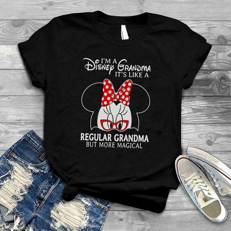 Costcotee Disney Grandma Shirt, Magical Grandma Shirt, Mother's Day Shirt, Dolewhip, Castle, Minnie Ears, Disneyland, Disneyworld, Magical Vacation.