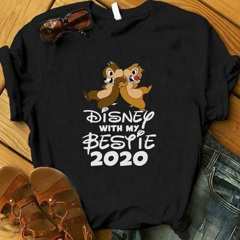 Costcotee Disney With My Bestie 2020, Chip and Dale Disney Shirt, Bff Shirts, Best Friend Shirts, Besties Gift, Disney Best Friend Matching Shirts