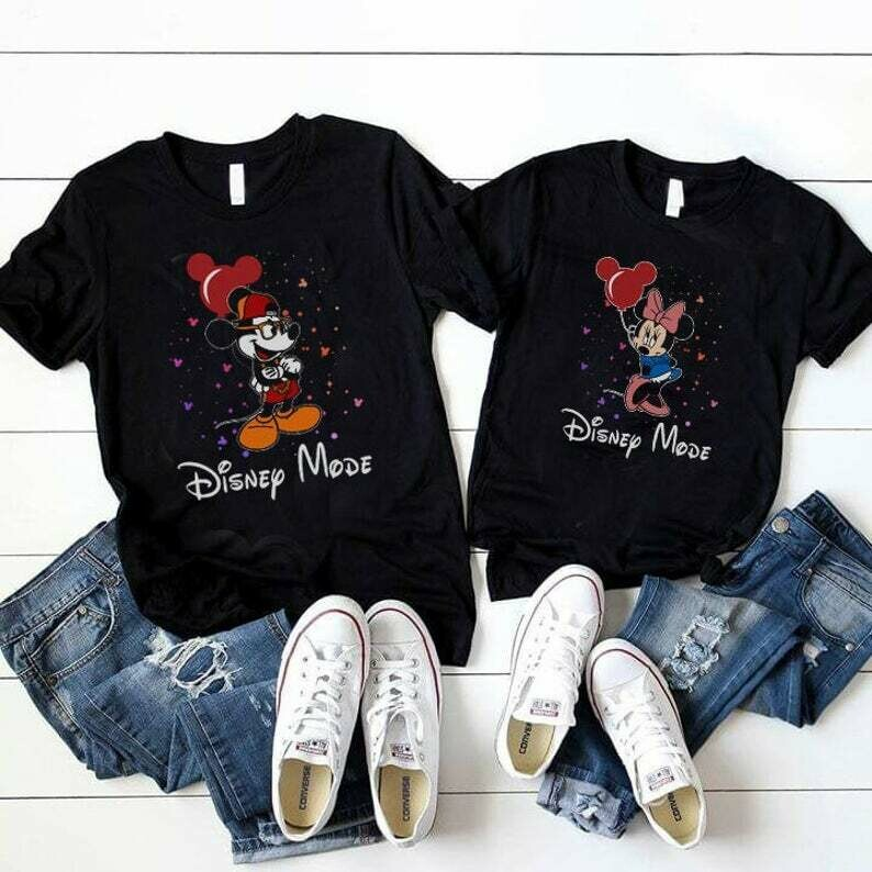 Costcotee Mickey & Minnie Shirts, Disney Couple Shirt, Matching Minnie Mickey Tees, Disney Trip Shirts, Minnie and Mickey, Husband and Wife Shirts