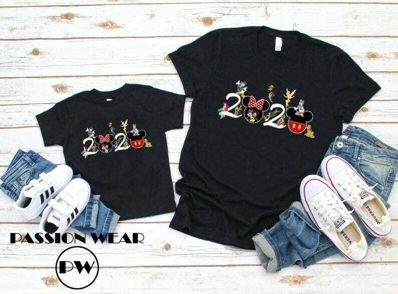 Costcotee Matching 2020 Disney Family Shirts, 2020 Disney Vacation, Mickey Mouse Shirt, Minnie Mouse Shirt, Disney Matching Shirt, Disney Family Shirt