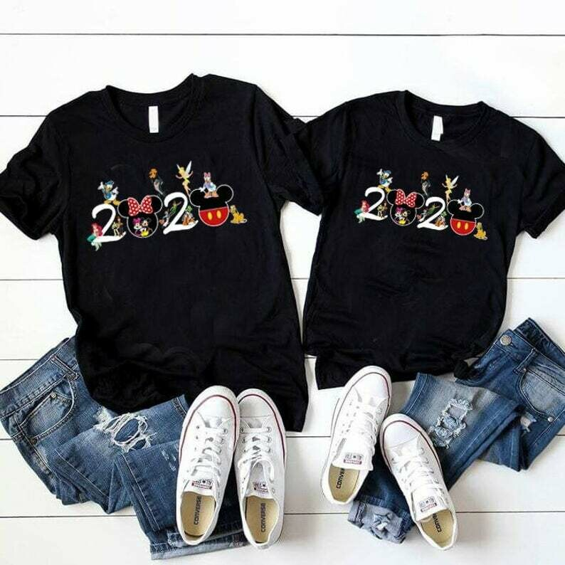 Costcotee 2020 Disney Family Shirts, Tinker Bell, Woody Shirt, Buzz Light Year, Mermaid, Mickey, Minnie, Disney Group Shirts, Matching Disney Shirts