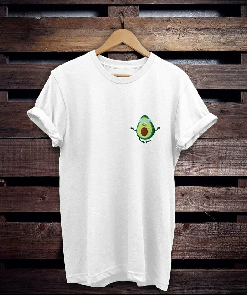 Costcotee avocado shirt, gift for avocado lovers, avocado stuff, avocado lovers, vegan shirt, vegetarian shirt, avocado tee, yoga shirt, yoga,