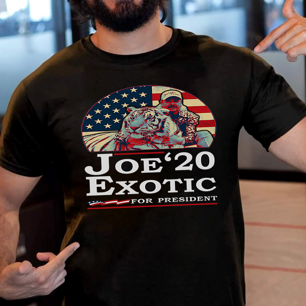 Costcotee Joe Lovers Exotic 2020 for President Funny T Shirt Unisex Shirt Short-Sleeve Long-Sleeve V-Neck Tank Pullover Hoodie Sweatshirt Men Women Tee Gift