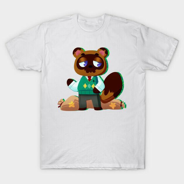 Animal Crossing New Horizons Tom Nook Funny T-Shirt Unisex Shirt Short-Sleeve Long-Sleeve V-Neck Tank Pullover Hoodie Sweatshirt Men Women Tee Gift