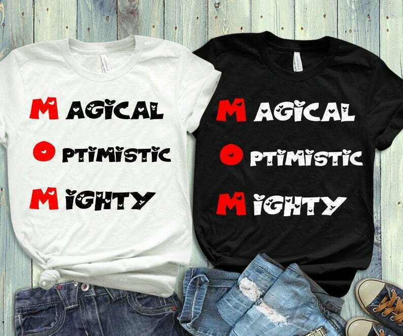 Magical Optimistic Mignty Tshirt, Mom shirt, Mothers day T-shirt, mothers day gift, gifts for mom, Mama