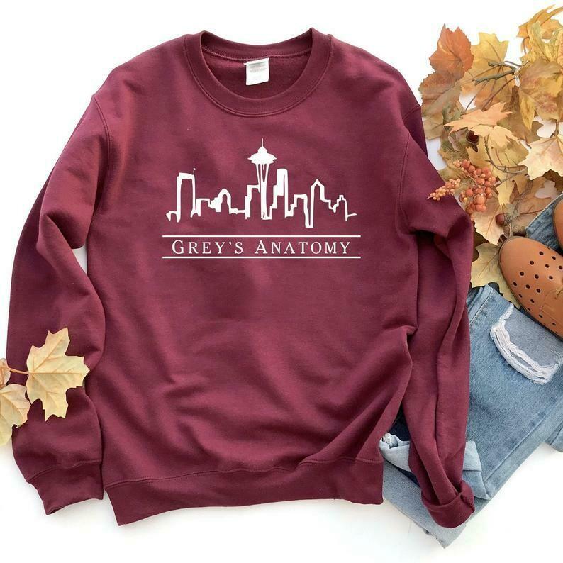 Greys Anatomy Sweatshirt, Grey Sloan Memorial Hospital, Greys Sweater, Greys Anatomy Fan