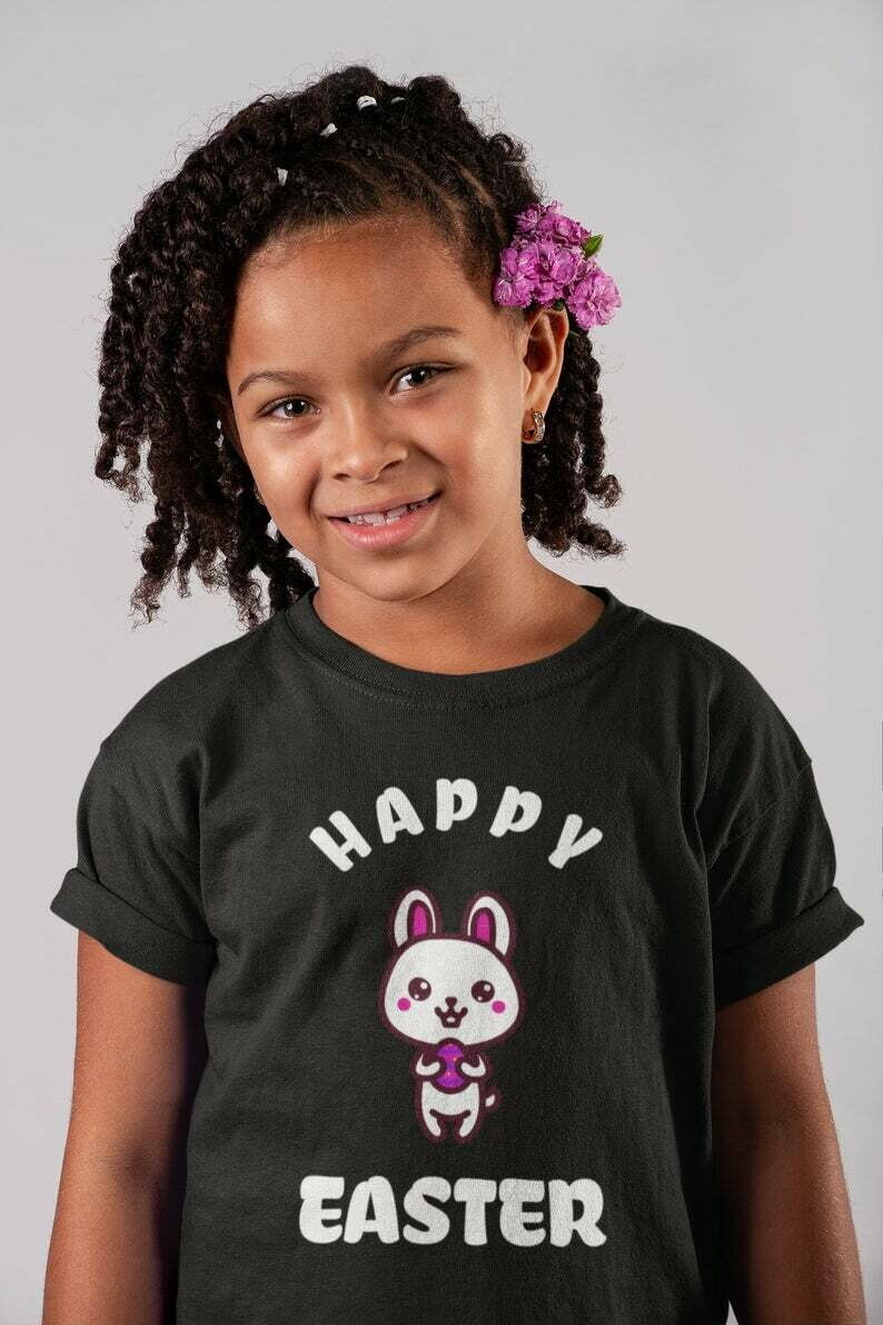 Happy Easter 2020 T Shirt, Cute Kids Easter Tee, Gift for Easter