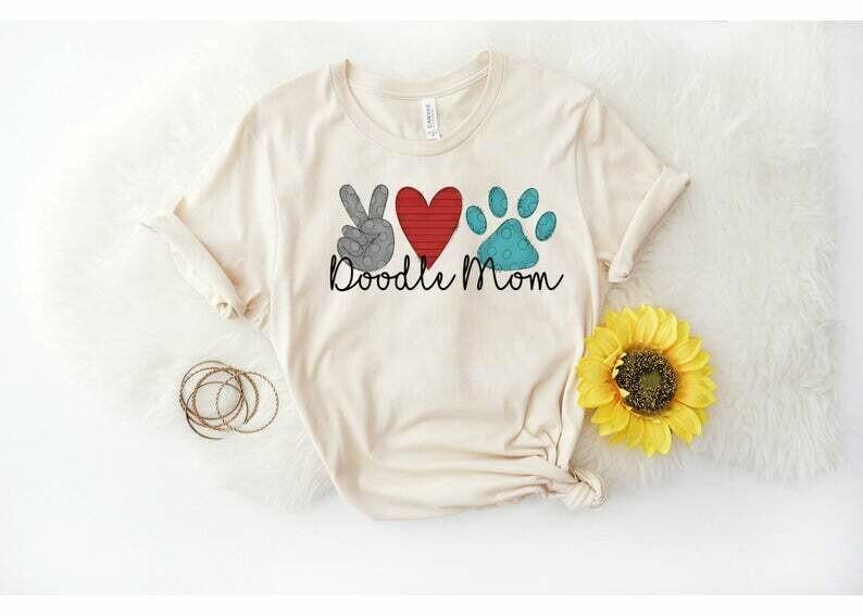 Doodle Mama T-Shirt, Funny Shirt, Gift for Her, Goldendoodle Shirt, Labradoodle, Bernedoodle, Dog Mom Shirt, Doodle Shirt, Dog Mama, doodle