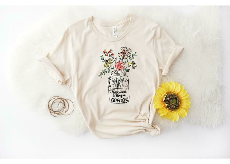 Grammy Shirt, Grammy Gift, Grandma Shirt, Mothers Day Gift for Grammy, Christmas Gift, Pregnancy Announcement Grandparents, Best Grammy Ever