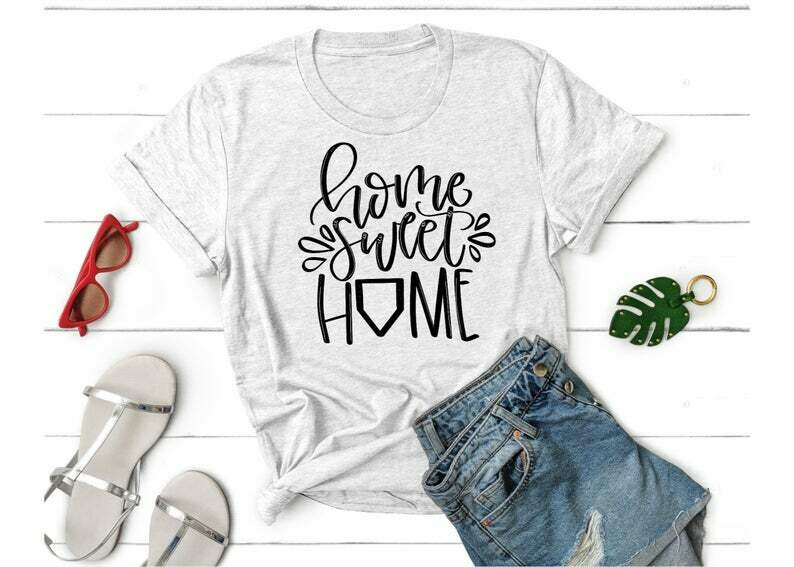 Home Sweet Home, Proud Mama, Softball Mom, Softball Mama, Unisex Shirt, Mom Tee, Mama Shirt, Baseball Mom Shirt, Baseball Mama Shirt,