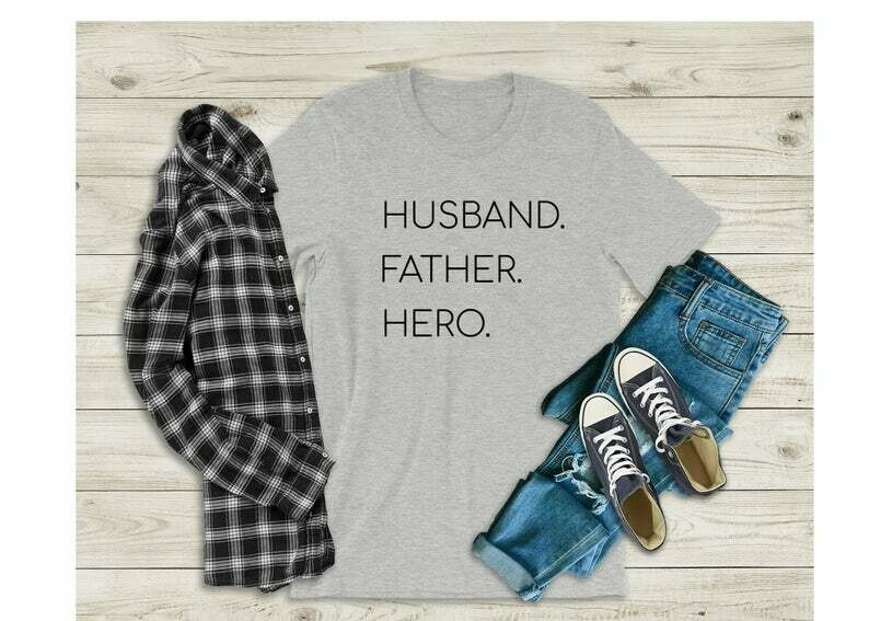 Father's Day, Gift for Him, Funny Father shirt, Father's Dad, Husband Father Hero, Hysterical Father's Day gift for him, Men shirt