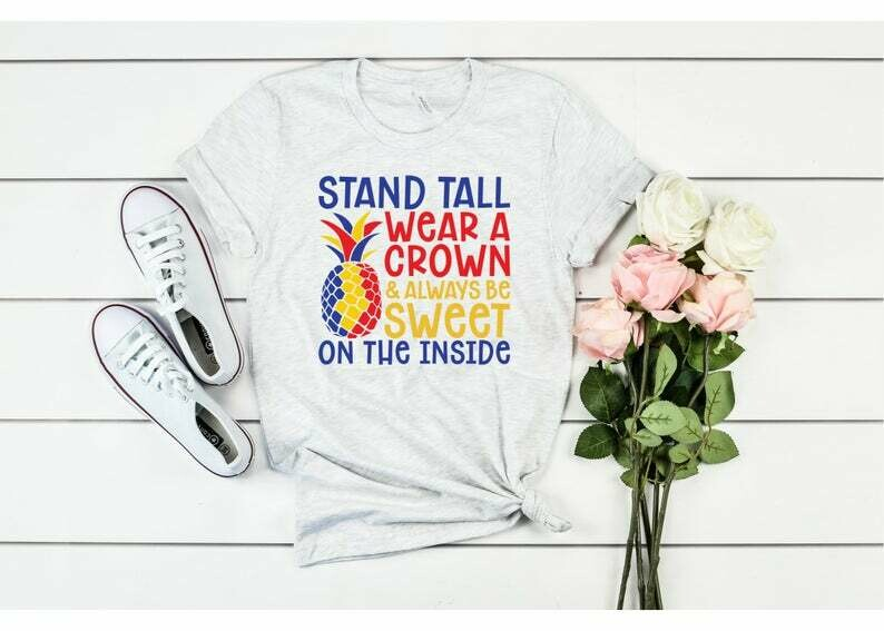 Stand Tall Wear A Crown, Autism Awareness T-Shirt, Autism, Autism Month