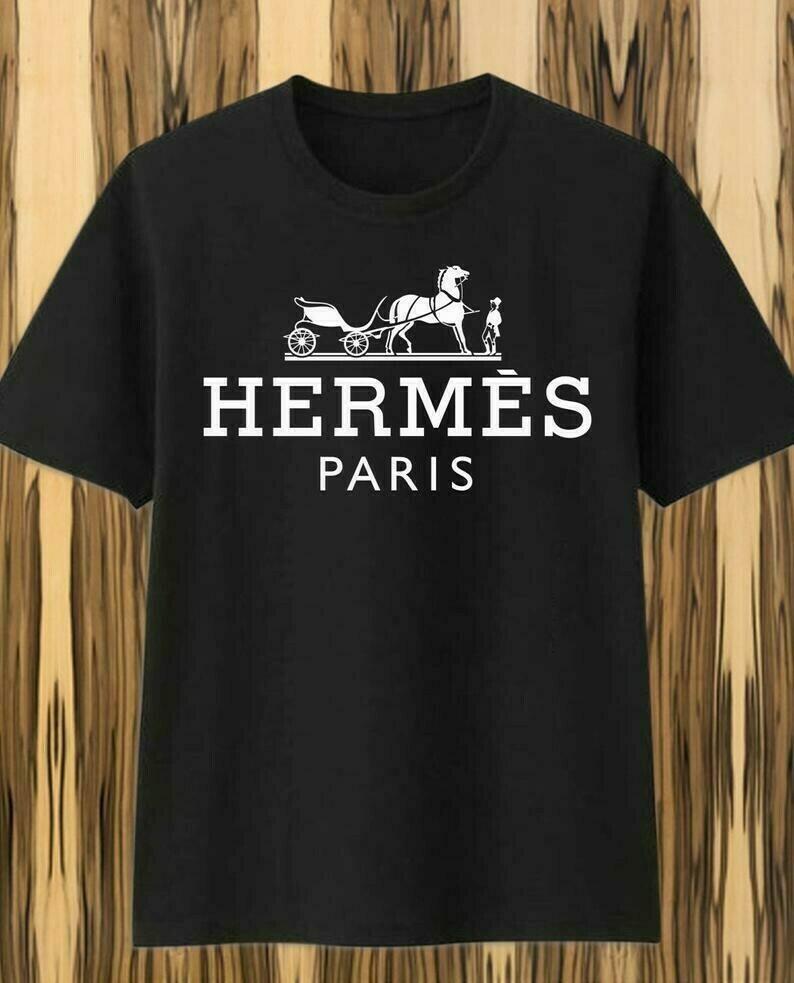 Classic Logo Hermes Paris Shirt Hermes T-shirt Hermes Logo Fashion Hermes Design Fashion Shirts for Women Men Youth Kids vintage shirt, Balenciaga shirt, Branded Clothing, versace medusa