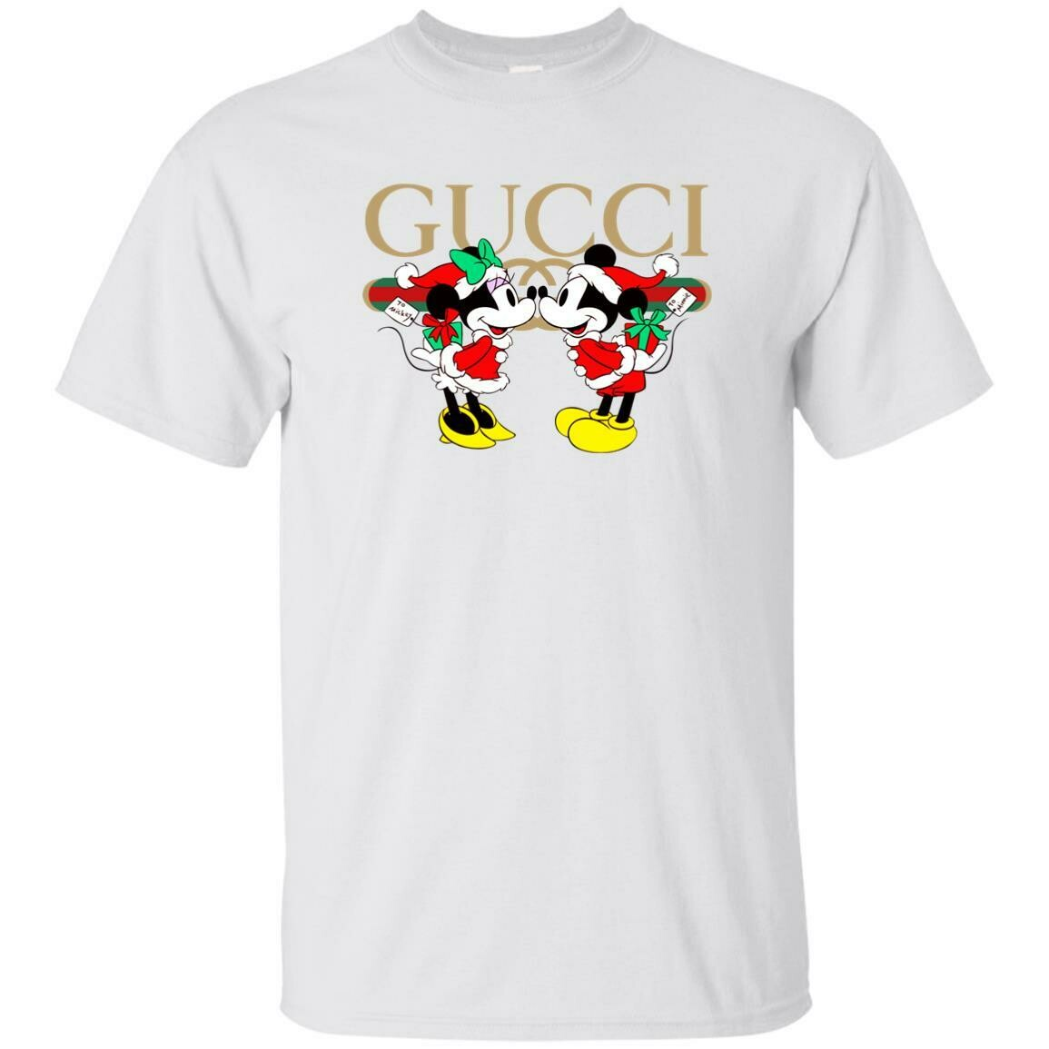 Gucci x Disney Mickey Christmas Unisex T-Shirt