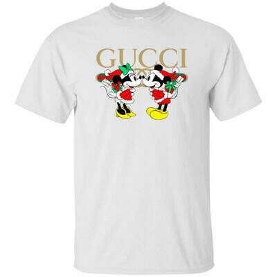 Gucci x Disney Mickey Christmas Unisex T-Shirt