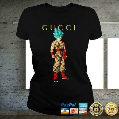 Goku dragon ball super gucci Classic Logo Gucci, Gucci Shirt, Gucci T-shirt, Gucci Logo, Gucci Fashion shirt, Fashion shirt, Gucci Design shirt,Snake Gucci vintage shirt
