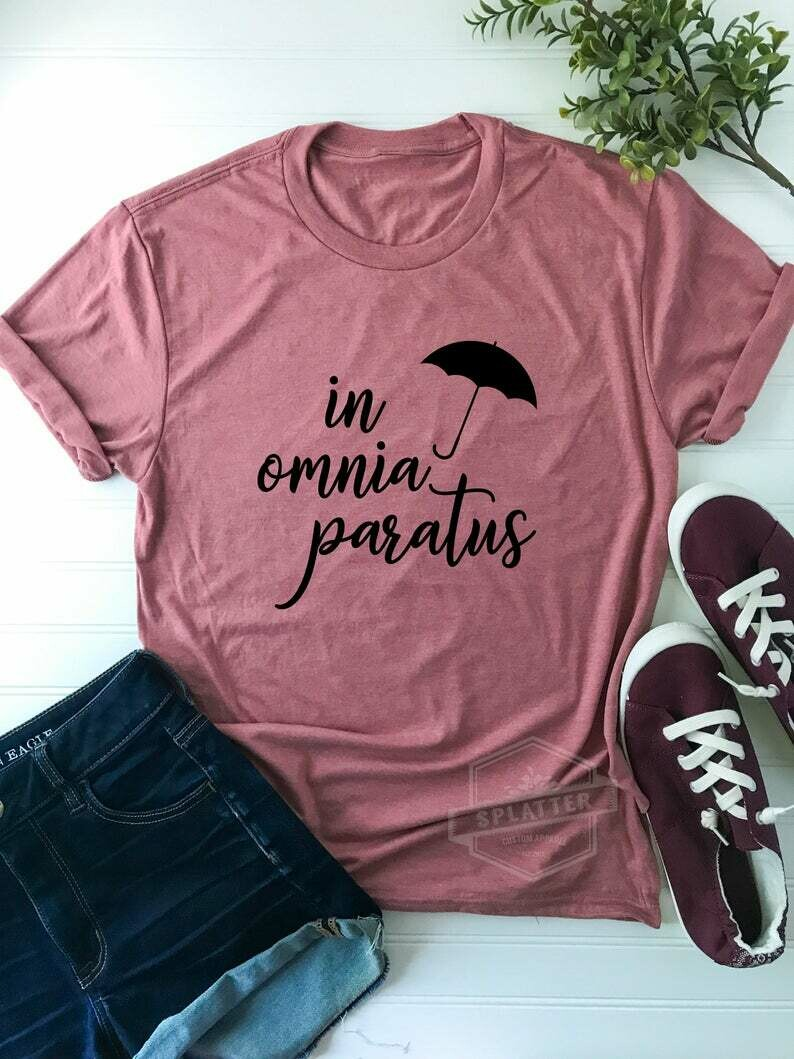 In Omnia Paratus | Life and Death Brigade | Gilmore Girls Inspired | Cute Gilmore Inspired T-Shirt