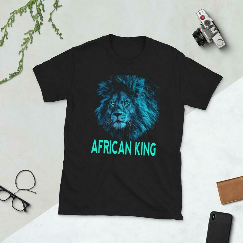 Black History Shirt, African American History Month, African Lion, Lion Shirt, Motivational Shirt, Inspirational Shirt, Leader, Black Pride