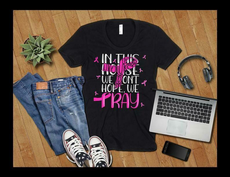 Breast Cancer Awareness Shirt, Breast Cancer Shirt, Breast Cancer Awareness Month Shirt, Religious Breast Cancer Shirt, Survivor Warrior
