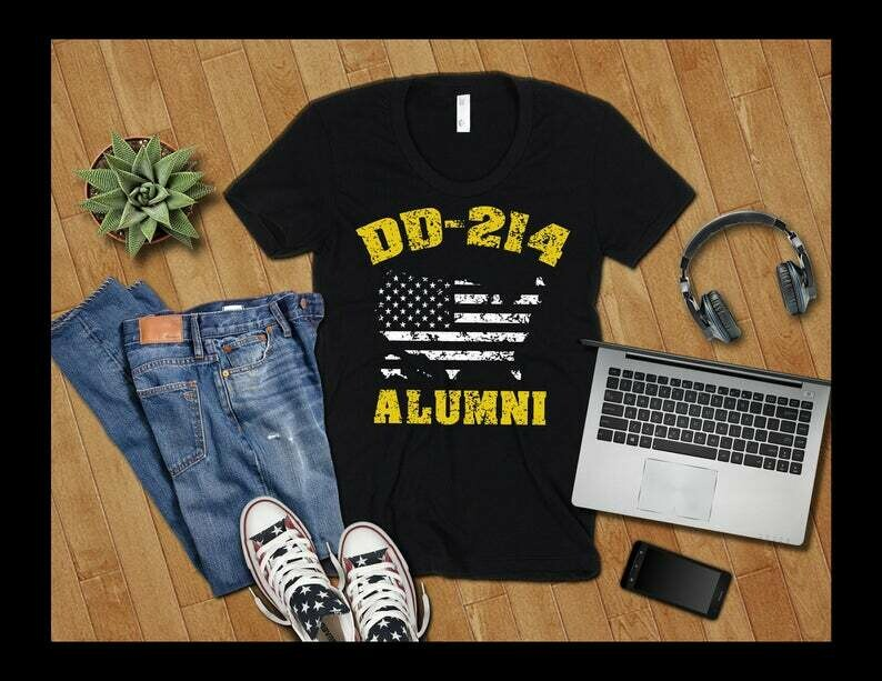 DD214 Shirt, DD214 Alumni Shirt, DD 214 Shirt, DD 214 Alumni Shirt, Veteran Shirt, Military Military Shirt, Veterans Day Gift, Military Gift
