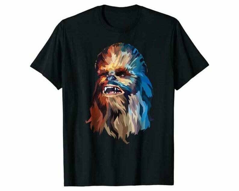 Star Wars Chewbacca Art Graphic T-Shirt