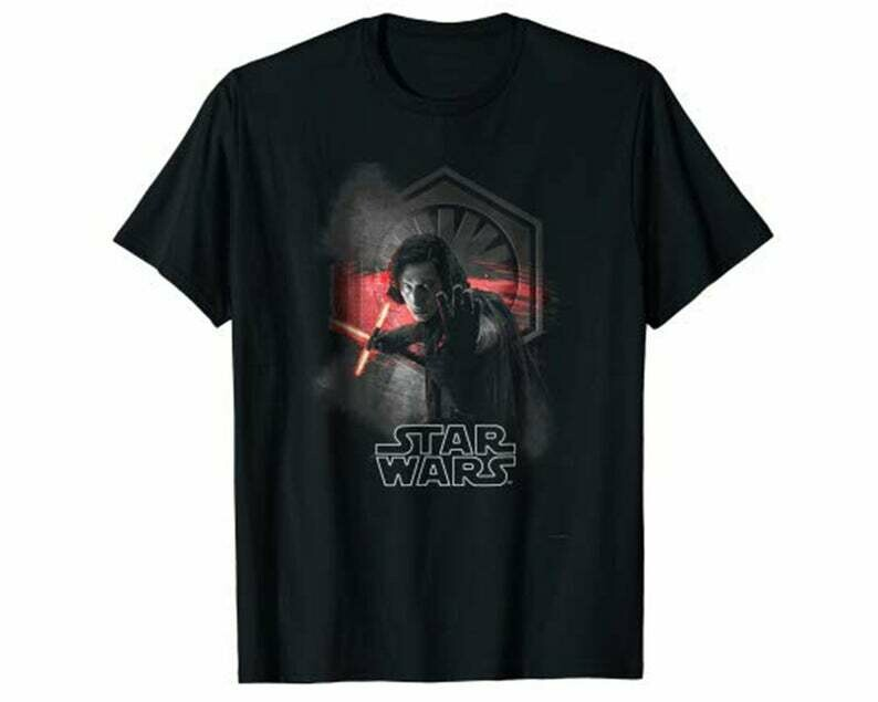 Star Wars Last Jedi Kylo Ren Won't Back Down Graphic T-Shirt