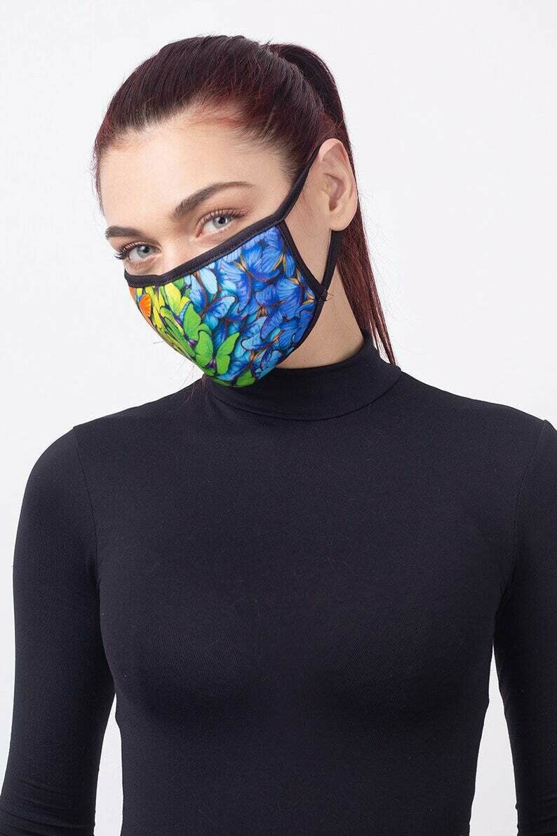 Cloth Face Mask, Reuse Face Mask, Fashion Face Mask, Face Mask with Nose Wire, Unisex Mask, Face Mask Kids, Face Mask Adults, Mouth Mask