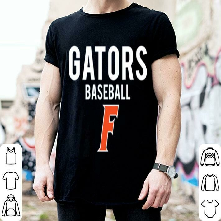 Florida Gator Baseball Shirt Hoodie