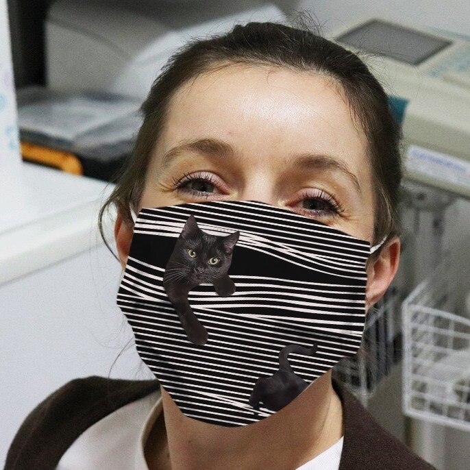 Cat Mask Black