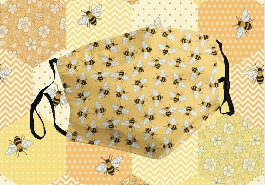 Cute Bee Face Mask