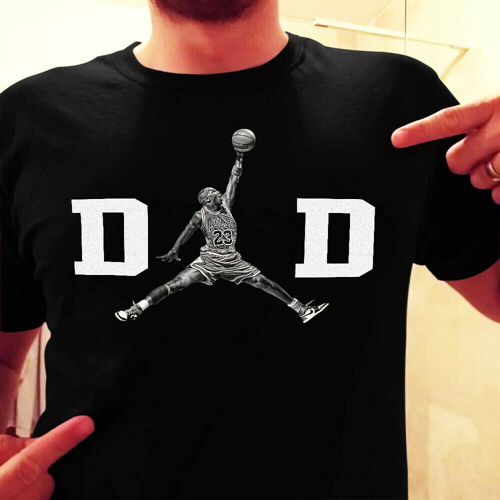 Michael Jordan Dad Chicago Bulls shirt, hoodie and v-neck t-shirt fathers day gift