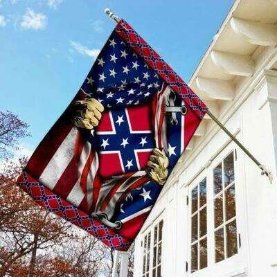 The Confederate Battle Flag House Flag(29.5