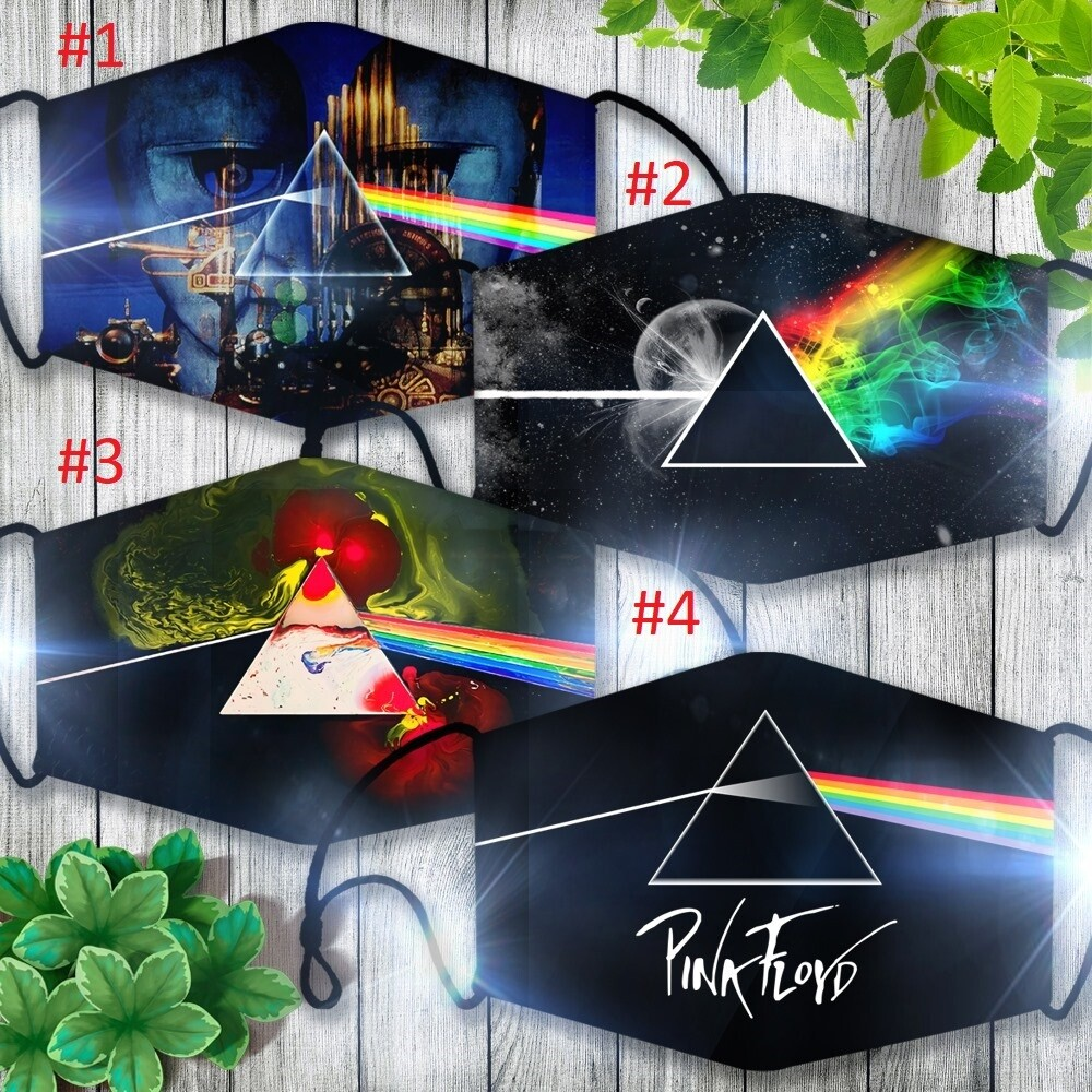 Pink Floyd Face Mask, 3D Face Mask, All Over Prints Face Mask