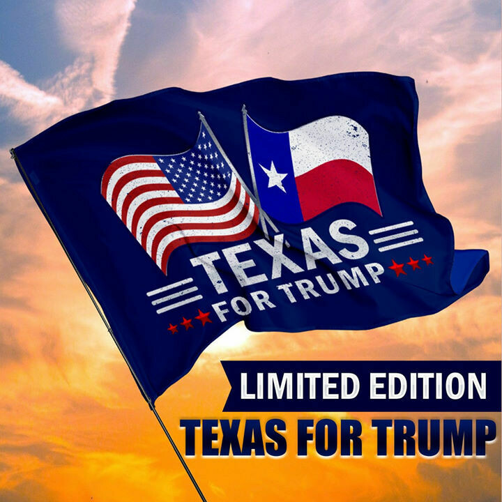 Texas For Trump House Flag, Wall Flag, Garden Flag