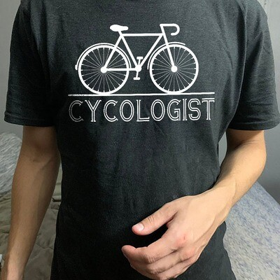 Cycologist Cycle Psychology Funny Bike Bicycle Lovers T-shirt, Bicycle Lover