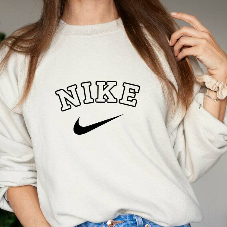 Inspired by Nike Crewneck Sweater Shirt | Vintage Nike Crewneck | Nike Sweatshirt