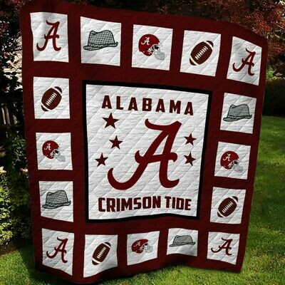 Alabama Crimson Tide Fleece Blanket