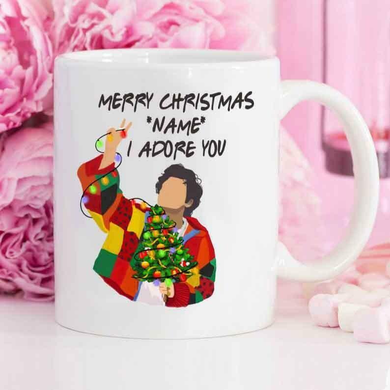Harry Styles Christmas Mug, Harry Styles Mug, Harry Styles Christmas Mug, Adore You Mug, Harry Styles, Harry Styles Christmas Gift