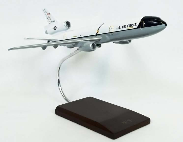 KC-10A Extender White/Gray Model Airplane
